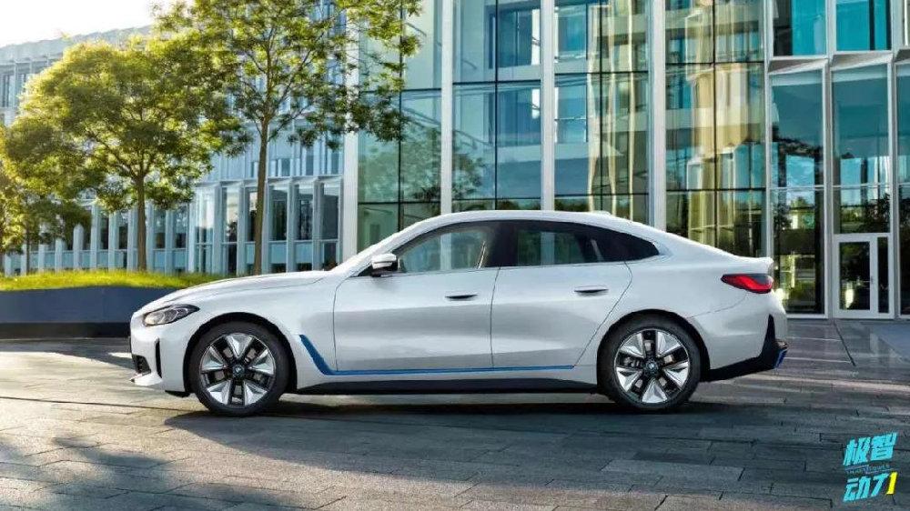宝马i4量产车型正式下线,拼得过特斯拉Model 3吗?