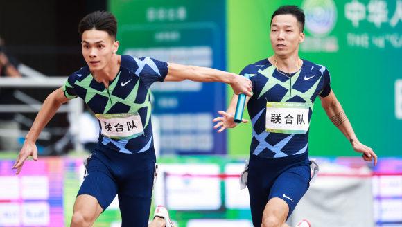 【全运】战胜联合队神话,广东短跑晋级百米接力决赛
