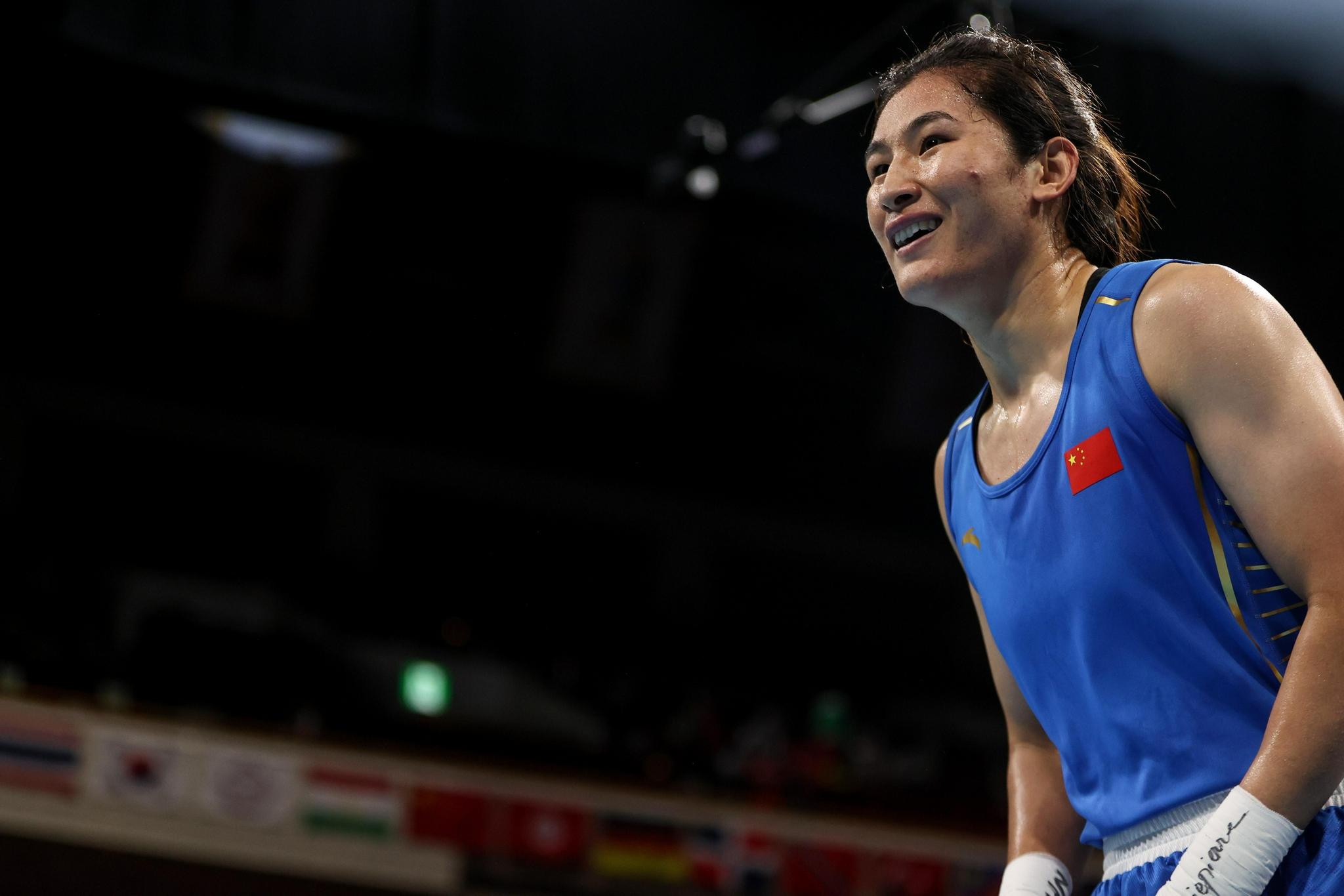 (东京奥运会)拳击——女子69-75公斤级:李倩晋级四强