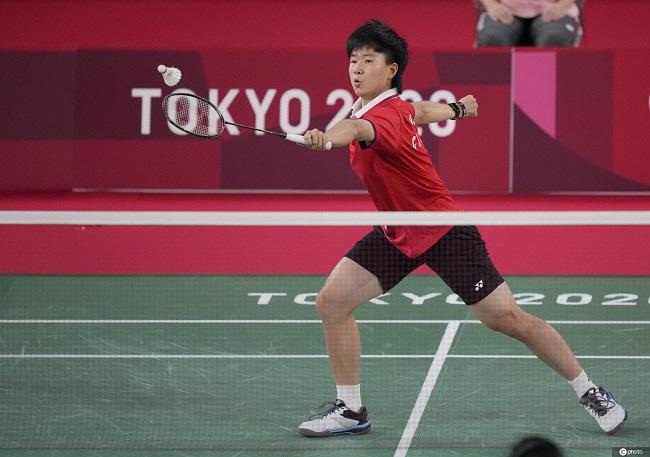 东京奥运会羽毛球女单铜牌争夺战:何冰娇不敌辛杜 获第四名