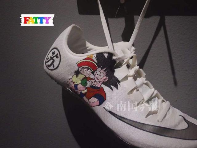 苏炳添的夺冠战靴竟是这柳州仔设计