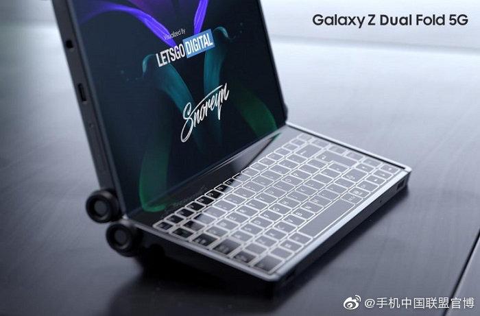 三星Galaxy Z双折叠5G双折叠视点机新设计专利曝光
