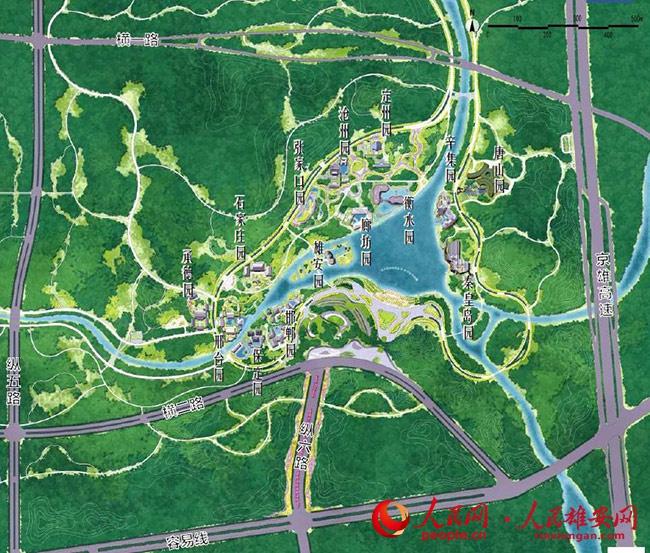 首届河北省绿化博览会将于7月起在雄安郊野公园举办