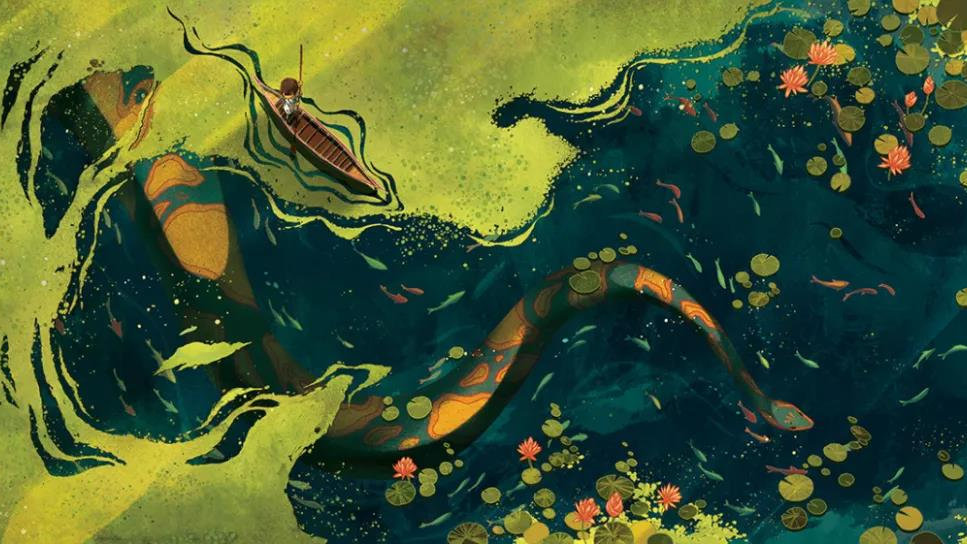 亚洲学术图画书最高奖:直击心灵的色彩魔术师作品
