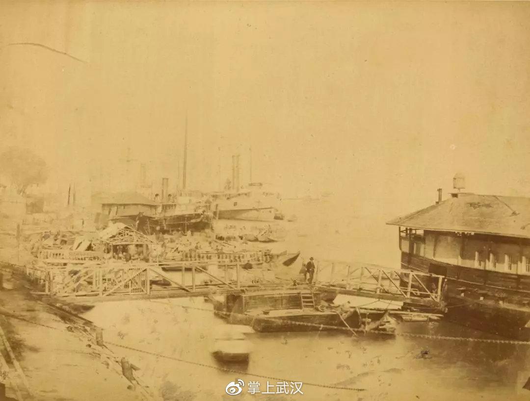 1874年的武汉,黄鹤楼等真迹曝光!