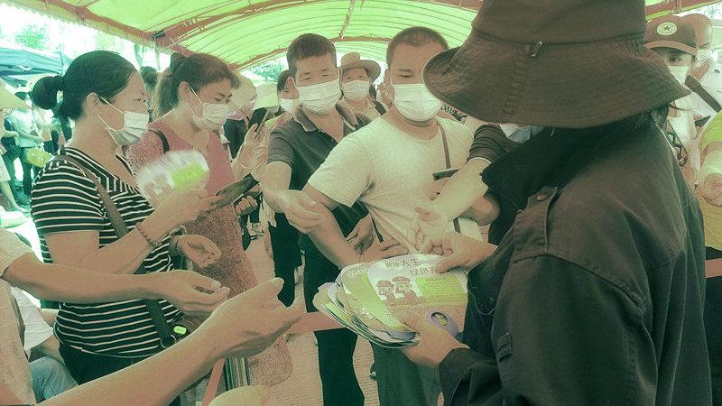 广西钦州市钦北区:结合防疫工作开展禁毒宣传