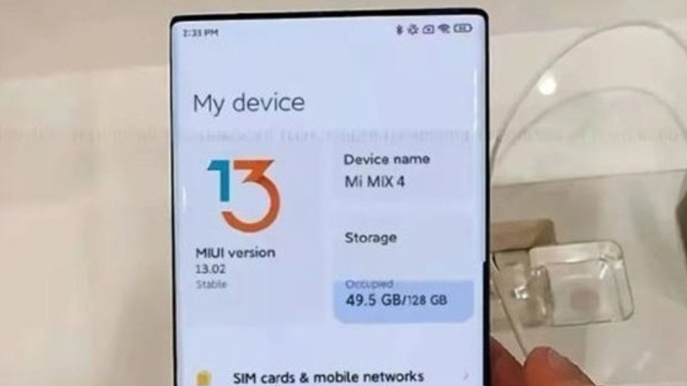 小米MIUI 13系统的UI界面曝光!小部件设计果然成为了新潮流