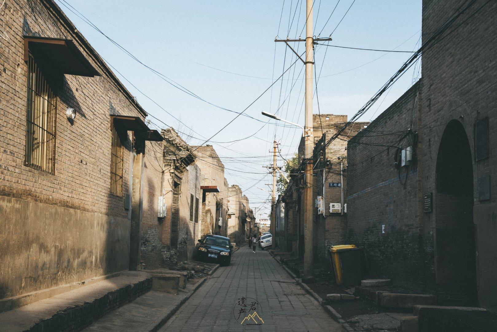山西祁县老城,现在海内生存最好最完整的古城之一