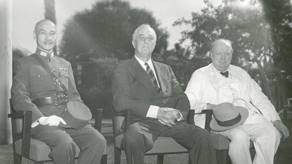 """罗斯福为什么坚持要将中美英苏称之为""""世界四大国""""?"""