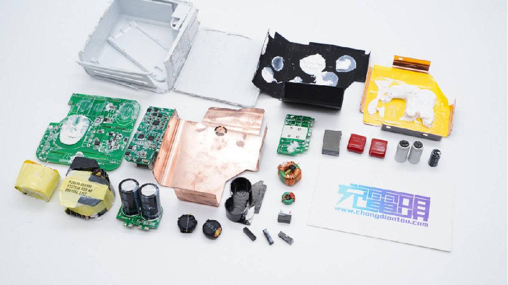 拆解报告:联想小新CC100W氮化镓充电器XXC100G