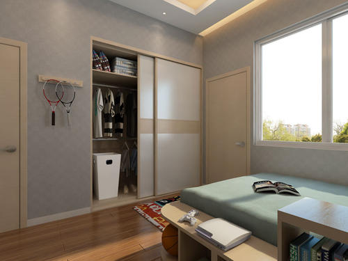 越来越多人卧室不买大衣柜,他们更潮流这样设计,好看实用省空间