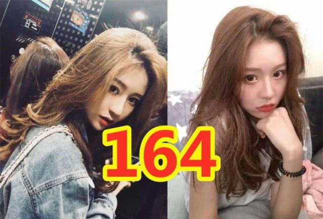 人气女网红身高揭秘,潘南奎175、温婉164,冯提莫155却不是最矮