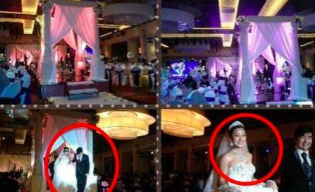 梁超和前妻婚礼曝光,布局充满网红气息