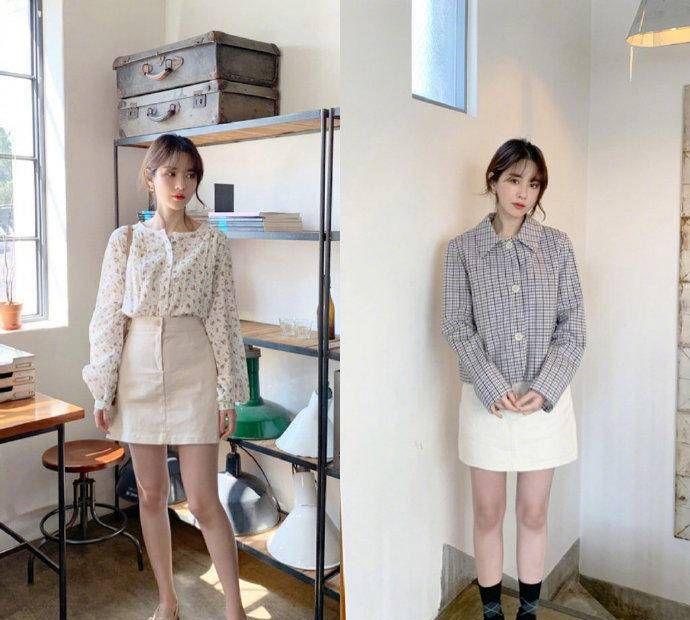 18套春日韩系风穿搭,清新脱俗超级减龄,穿出优雅气质感!