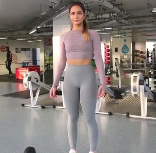 身材不好不要紧,坚持健身,终究会练出好身材