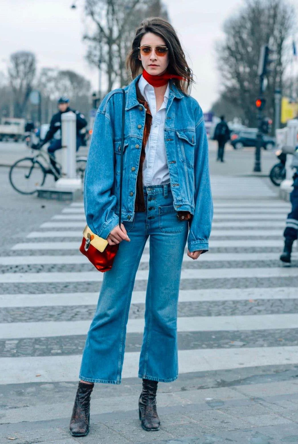 时尚有型的阔腿裤,为气场加分,走出你的潮流范
