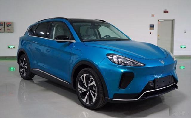 纯电动中型SUV新品终等到北汽新能源ARCFOXECF量产