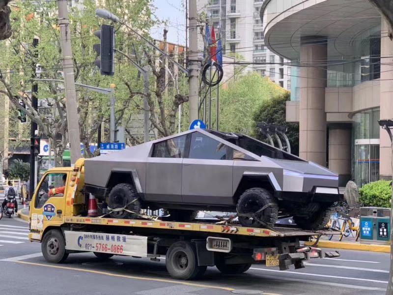 """特斯拉皮卡現身中國,馬斯克:采用新懸掛,能""""干翻""""其他越野車"""