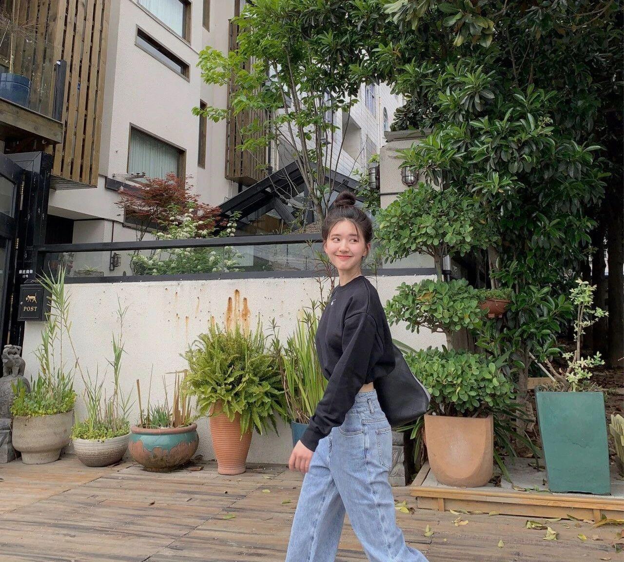 小个子女生的穿搭模板,赵露思甜美系穿搭赛高