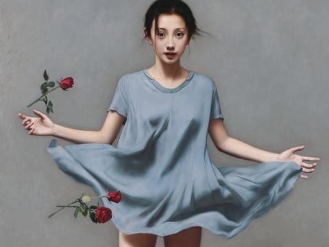 绝美人体——李贵君超写实人体油画艺术,细腻逼真!