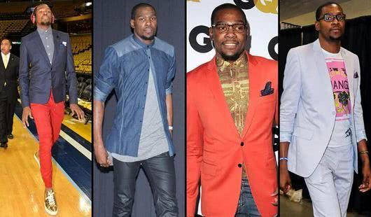 NBA穿搭分5个等级:阿杜乡土气息C级,潮男詹姆斯S级