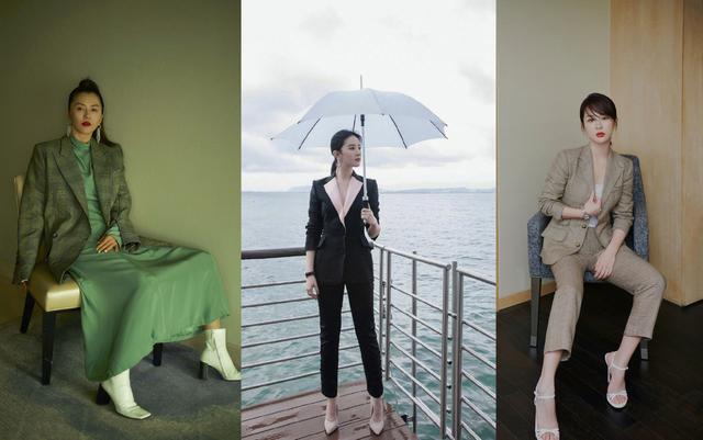 西装外套该穿了!正式又休闲的时尚感,杨紫董璇给你4个穿搭灵感