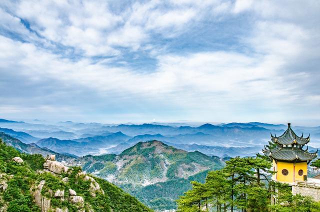 """九华山大愿文化园,占地2800多亩的""""佛教王国"""""""