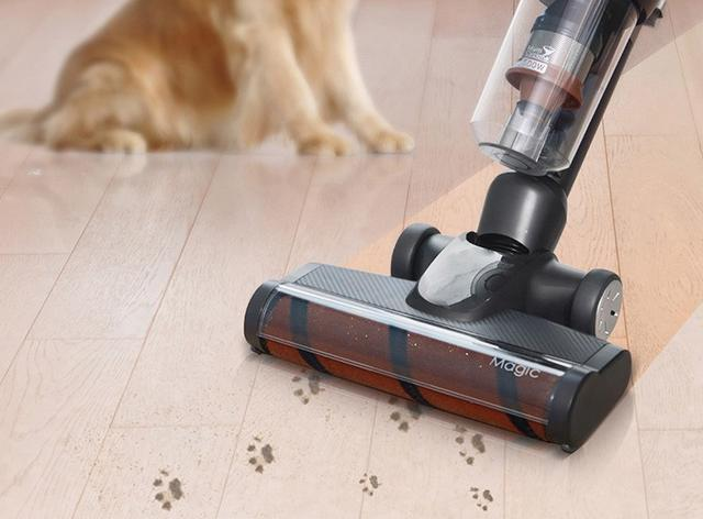 魔洁M12立式吸尘器,家有宠物的必备神器