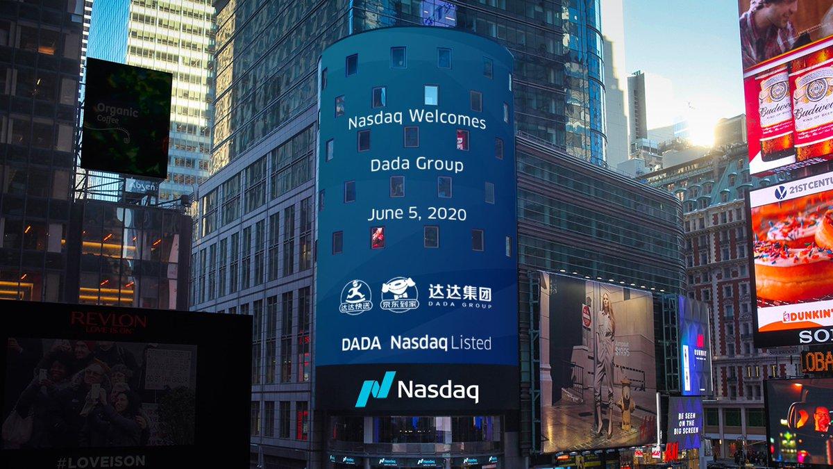 《【万和城在线平台】达达公司在纳斯达克上市,中国上市企业仍受华尔街热捧》