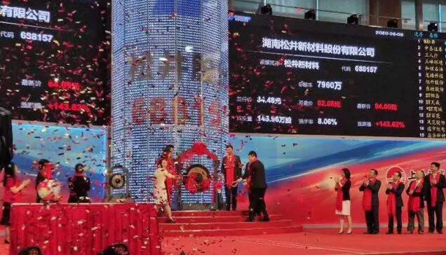 《【万和城网上平台】松井股份科创板上市:市值73亿 第一季营收降5.24%》