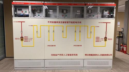 智能节能配电技术在博兰奇集团研发成功
