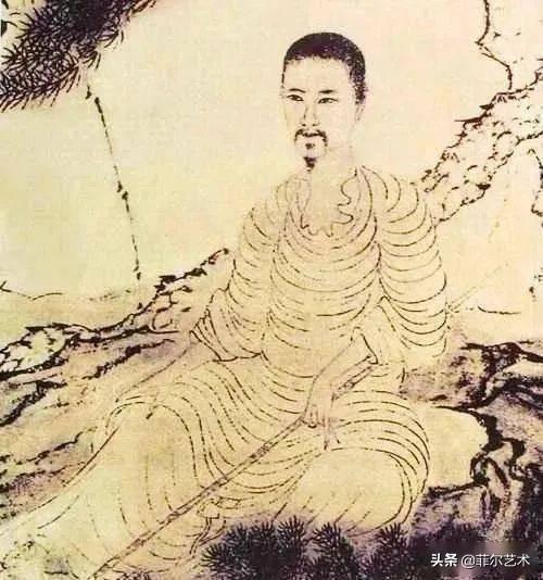「国画欣赏」赏石涛泼墨荷花,真过瘾