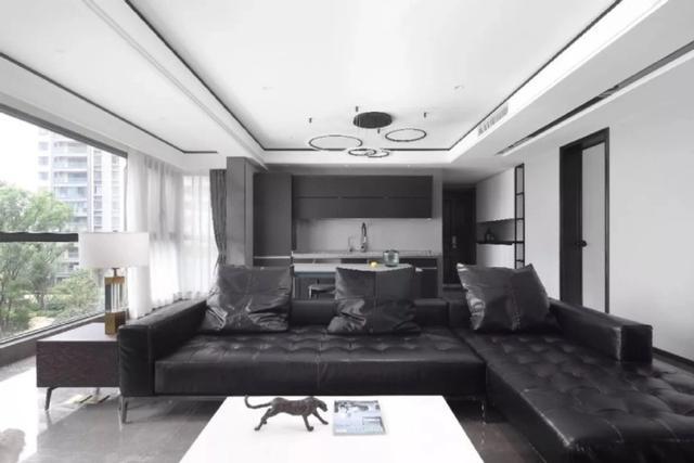 118平米的房这样装修好看100倍,现代风格惊艳众人!-悦千山雅园装修