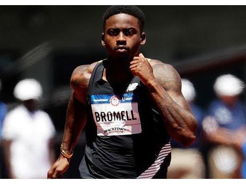 9秒90,百米青年纪录保持者布罗梅尔王者归来,东京奥运将争金牌