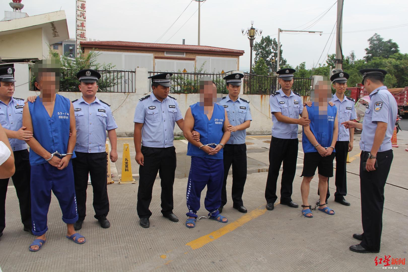 加油站女员工遭抢劫杀害 警方追凶15年3嫌疑人落网