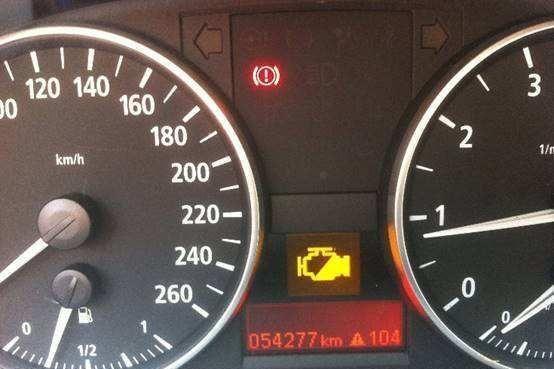 高速公路上发动机故障灯亮了怎么办?应该怎样处理?