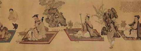 上海博物馆有一幅《高逸图》,只对外展出过一次,谁看到都有眼福