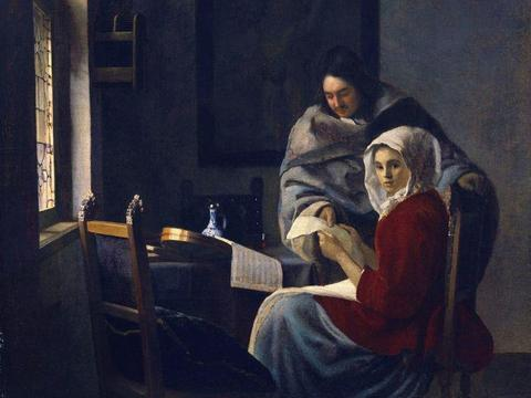 荷兰最伟大的画家——约翰内斯·维米尔经典油画高清全集