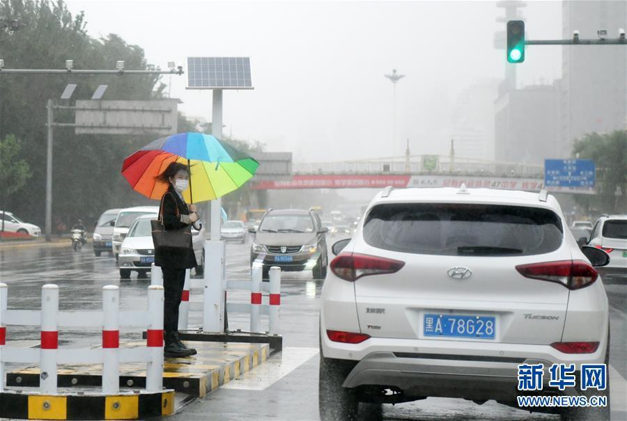 """受台风""""海神""""影响 黑龙江迎来降雨天气"""