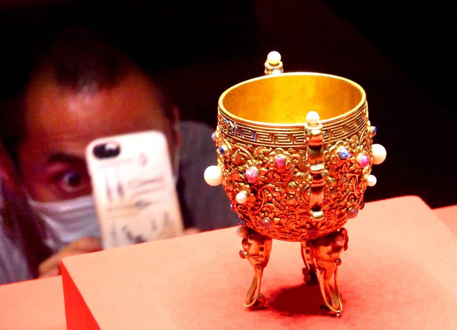 紫禁城600岁 450余件文物讲述紫禁城600年!
