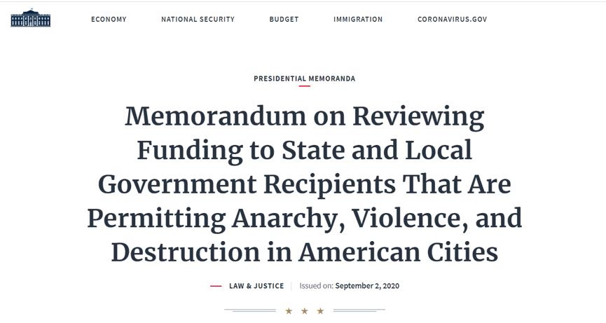 """美国三大城市正式成为""""无政府主义""""地区 纽约市长:不过是特朗普又一个把戏"""
