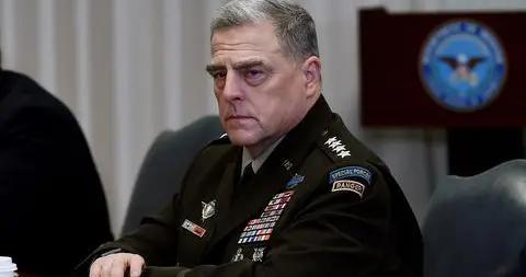 曾与新冠肺炎确诊患者接触 美军最高将领马克·米利正在隔离