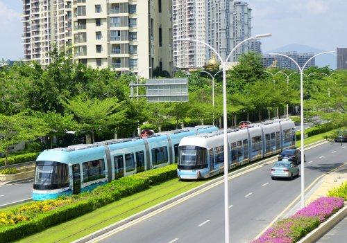 三亚有轨电车示范线昨日开通 广州地铁参与建设并负责运营