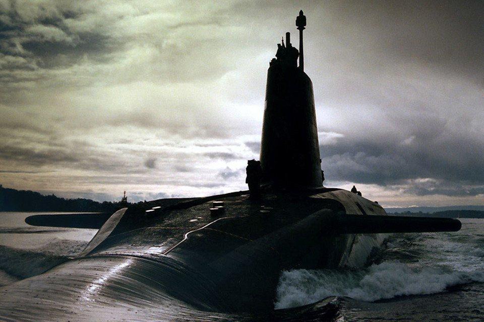 """英国皇家海军""""警觉""""号核潜艇 来源:美国海军研讨学会网站(USNI)"""