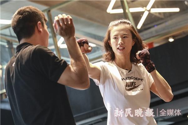 """徐莉佳化身""""拳击宝贝"""",推广""""体荟魔都""""上海体育消费券"""
