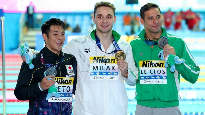 匈牙利运动员、200米蝶泳世界纪录保持者米拉克感染新冠