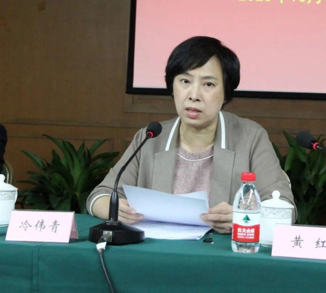 冷伟青宣读了市委关于赵英同志的任职通知并介绍了基本情况