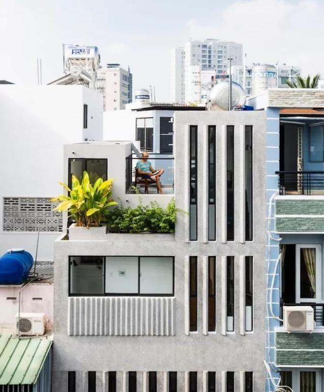 越南夫妻晒出18㎡新房,在整面墙上打窗户,儿童房设计是亮点!