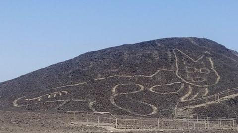 秘鲁发现新地画(图源:RPP新闻)