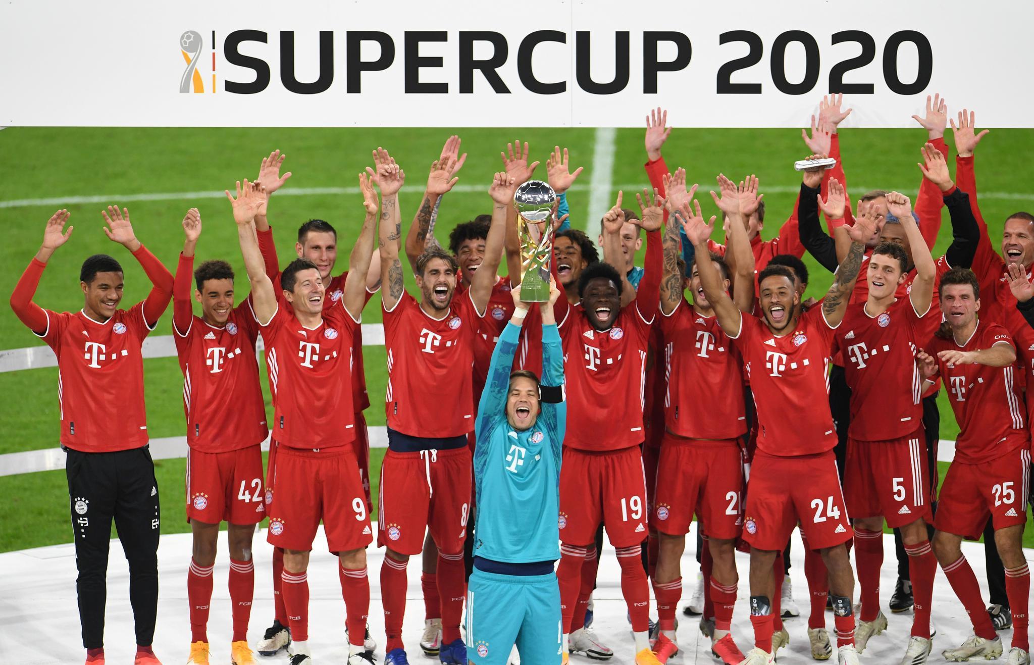 基米希绝杀!拜仁赢得德国超级杯